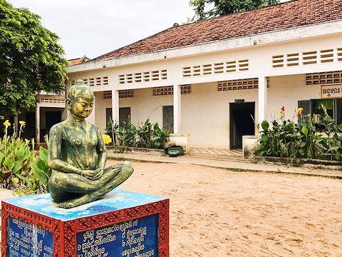 Provincial school, Takéo, Cambodia.