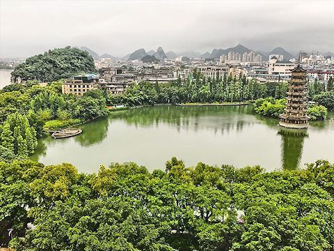 Shanhu Lake, Guilin, China