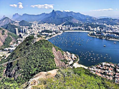 Rio de Janeiro viewed from Pão de Açúcar